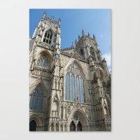 York City Minster Canvas Print