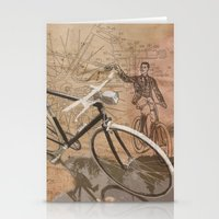 Vintage Bicycle Hipster Stationery Cards