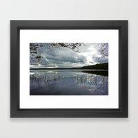 Loch Garten, Scotland.  Framed Art Print