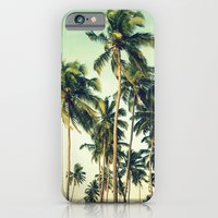 Paradise Print iPhone 6 Slim Case