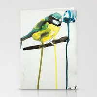 Blue Tit Stationery Cards