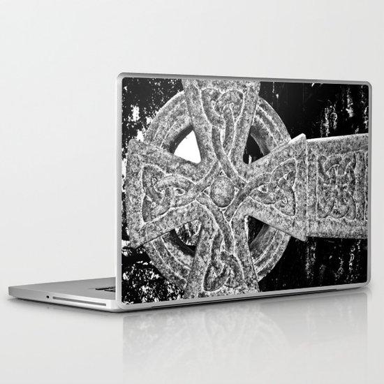 Celtic Cross Laptop & iPad Skin