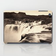 Vintage Waterfall iPad Case