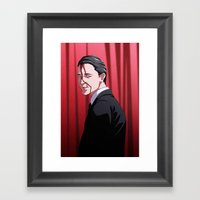 How's Annie? (Agent Coop… Framed Art Print