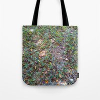 Green On The Ground Tote Bag