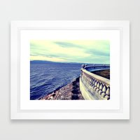 Overlook Framed Art Print