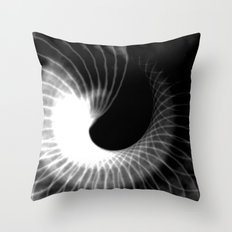 Spinning Shadows Throw Pillow