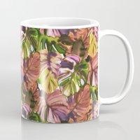 Welcome to the Jungle Palm Aubergine Mug