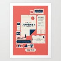 The Destination Art Print