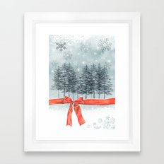 wintertrees Framed Art Print