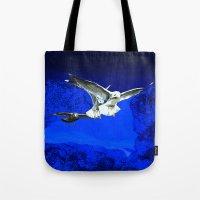 Flying birds  Tote Bag