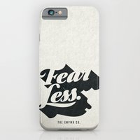 iPhone Cases featuring Fear Less by The Empwr Co.