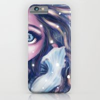 iPhone & iPod Case featuring Winter Twins by parochena