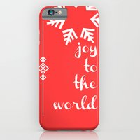 iPhone & iPod Case featuring Joy To The World by Valerie Hoffmann