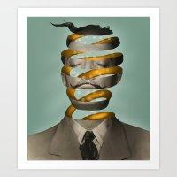 Inside The Mind  Art Print