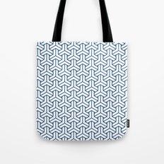 bishamon in monaco blue Tote Bag