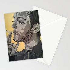 A Casual smoke  Stationery Cards