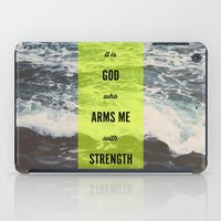 ARMS ME WITH STRENGTH iPad Case