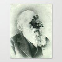 The Origin Canvas Print