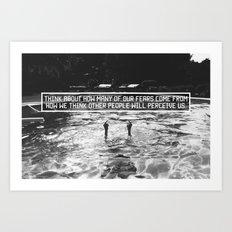 Fear of Perception Art Print