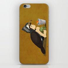 Little Black Cormorant iPhone & iPod Skin