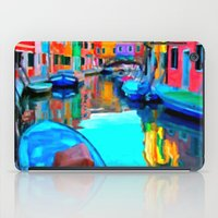 Colors In Venice - Paint… iPad Case