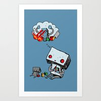 A Dream About the Future Art Print