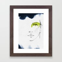 Lena Framed Art Print