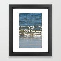 sea mist Framed Art Print