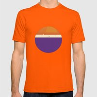 Roundy Mens Fitted Tee Orange SMALL