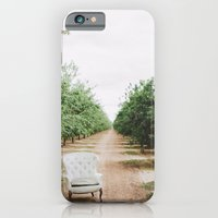 iPhone & iPod Case featuring Chair in the Orchard by Anna Delores