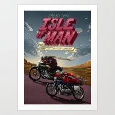 Isle of Man Art Print