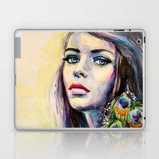 Peacock Girl Laptop & iPad Skin