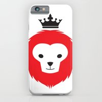 iPhone & iPod Case featuring Little Lion Man by Brandon Autry