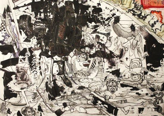 At the Deep Black Bottom of History Art Print