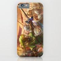 iPhone & iPod Case featuring Legendary Battle  by Tyler Edlin Art