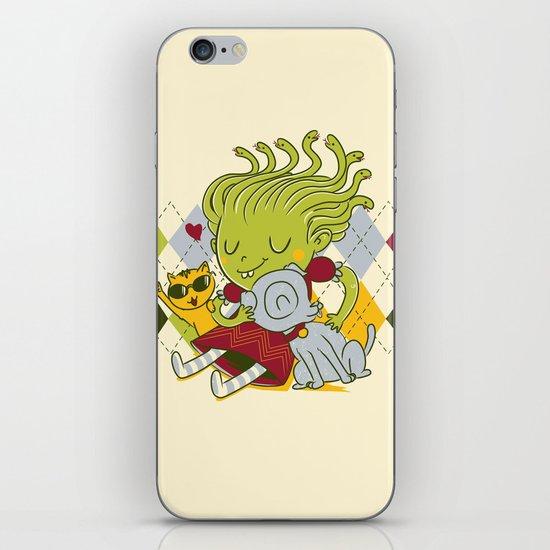 Medusa had a pet rock. iPhone & iPod Skin