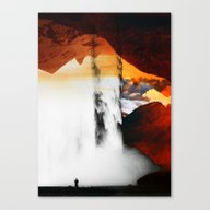 Isolation Fall Canvas Print