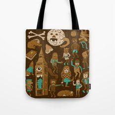 Wow! Werewolves!  Tote Bag
