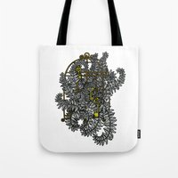 Jailed fern Tote Bag