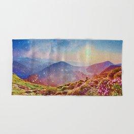Hand & Bath Towel - Summer mountains - CatyArte