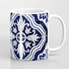 blue tile pattern VII - Azulejos, Portuguese tiles Mug