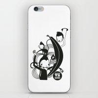 WARREN VS MONKEY BANANA iPhone & iPod Skin