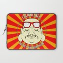 Hipster Budai Laptop Sleeve