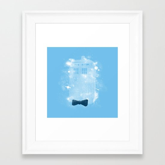 Bow Ties Are Cool Framed Art Print