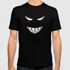 Evil Grin Evil Eyes SMALL Mens Fitted Tee Black