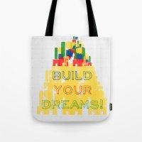 Build your dreams! Tote Bag