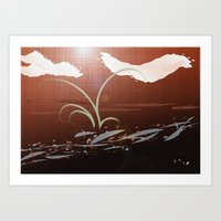 Streamside Art Print