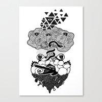 Hypnoisland Canvas Print