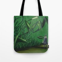 POEM OF INSECTS Tote Bag